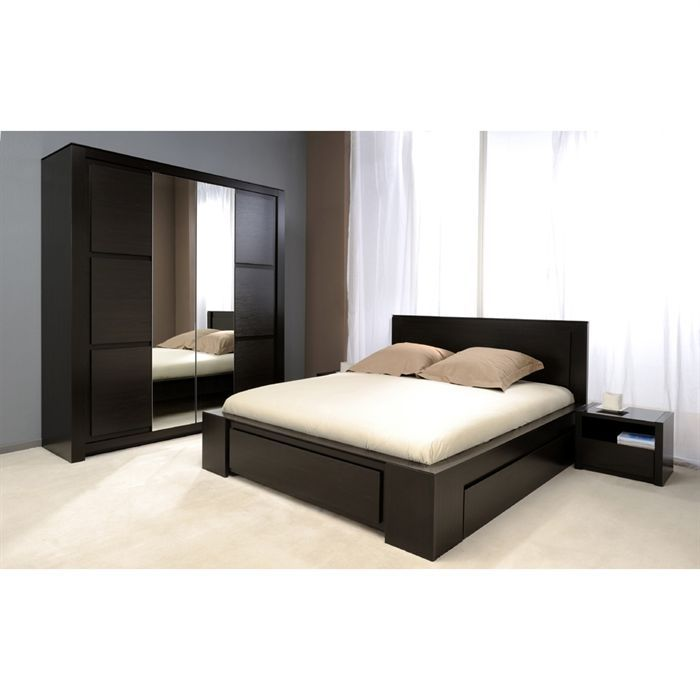 Conforama chambre adulte compl te design d 39 int rieur et for Decoration murale kross