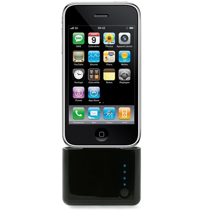batterie de secours iphone 3 4 ipod achat batterie