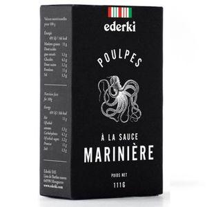 AUTRE CONSERVE POISSON Poulpes Sauce Marinière 111gr