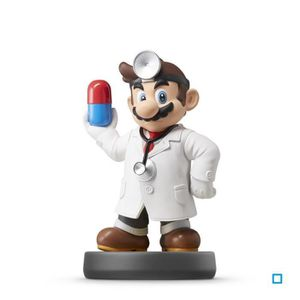 FIGURINE DE JEU Figurine Amiibo Dr Mario Collection Super Smash Br