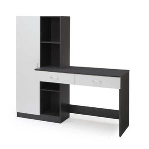 bureau adolescent achat vente bureau adolescent pas cher cdiscount. Black Bedroom Furniture Sets. Home Design Ideas