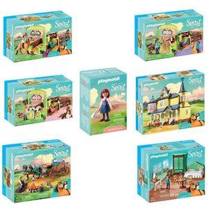 UNIVERS MINIATURE PLAYMOBIL - Pack Gamme Spirit - Lot de 7 boîtes