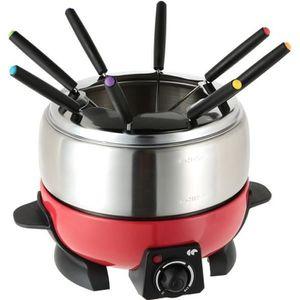 FONDUE ÉLECTRIQUE CONTINENTAL EDISON FD6RIX Appareil à fondue - Roug