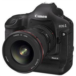 APPAREIL PHOTO RÉFLEX CANON EOS 1D Mark III boitier seul *- Réflex numér
