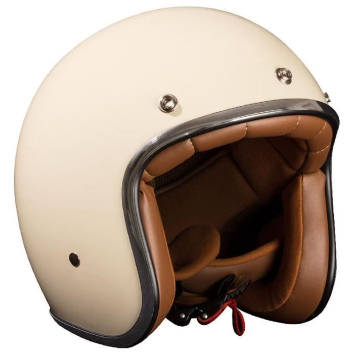 casque jet beige achat vente casque scooter pas cher cdiscount. Black Bedroom Furniture Sets. Home Design Ideas