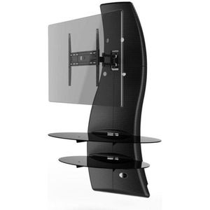 meuble tv colonne achat vente meuble tv colonne pas cher cdiscount. Black Bedroom Furniture Sets. Home Design Ideas