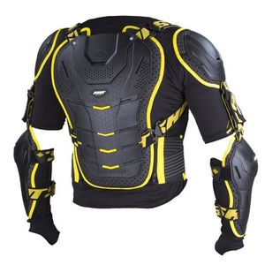PLASTRON - PARE-PIERRE SHOT Gilet de protection interceptor - Noir / Jaun