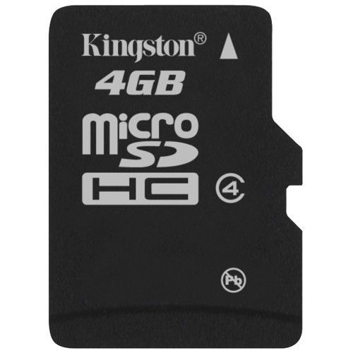 kingston carte micro sd 4gb achat vente carte m moire cdiscount. Black Bedroom Furniture Sets. Home Design Ideas