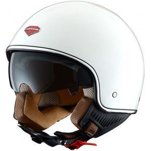 CASQUE MOTO SCOOTER ASTONE MiniJet Retro Casque Jet Blanc