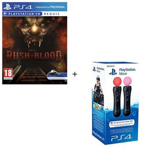 PACK ACCESSOIRE PlayStation Move + Until Dawn Rush of Blood VR