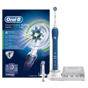 BROSSE A DENTS ÉLEC Oral-B Smart 4000 Cross Action Brosse à dents élec