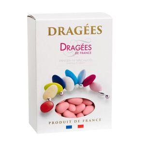 DRAGÉES DRAGEES DE FRANCE Dragées Amande Marguerite 20% -
