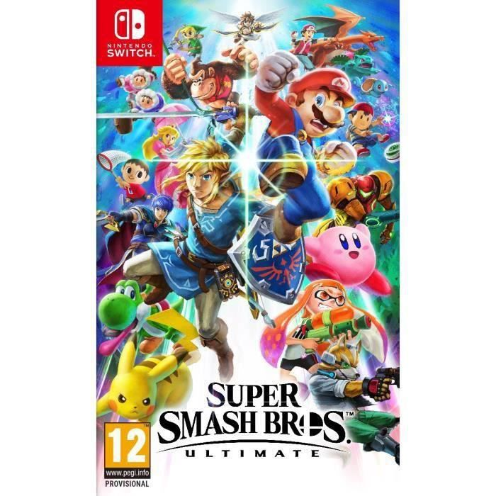 Calendrier Jeux Switch.Super Smash Bros Ultimate Jeu Switch