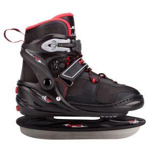 PATIN À GLACE NIJDAM Patins Hockey sur glace à chausson semi-rig