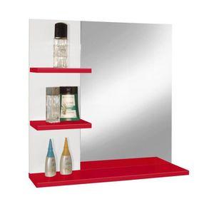 MIROIR SALLE DE BAIN CORAIL Meuble miroir de salle de bain L 60 cm - Ro
