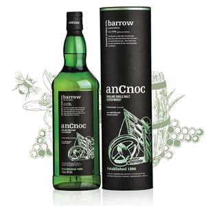 WHISKY BOURBON SCOTCH AnCnoc Barrow  Edition limitée 1L
