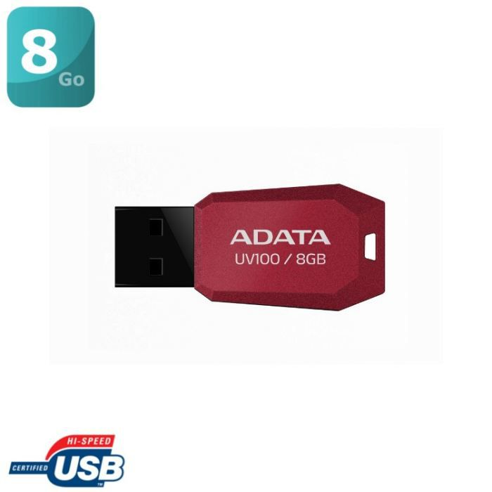 adata uv100 cl usb 8go rouge prix pas cher cdiscount. Black Bedroom Furniture Sets. Home Design Ideas