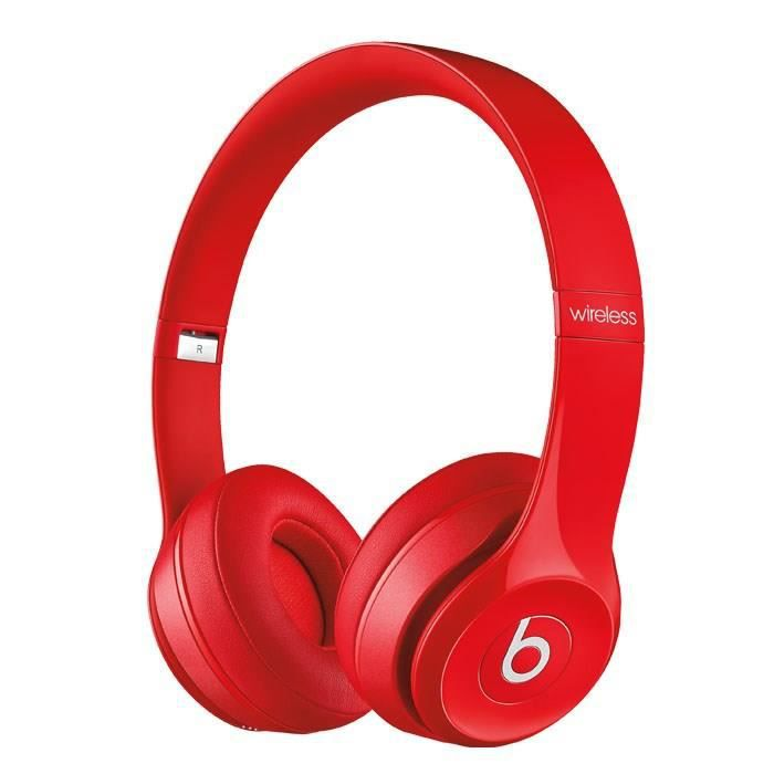 beats solo 2 wireless casque audio bluetooth rouge casque couteur audio avis et prix pas. Black Bedroom Furniture Sets. Home Design Ideas
