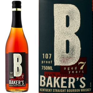 WHISKY BOURBON SCOTCH Baker's 7 ans Bourbon 53.5% 70cl
