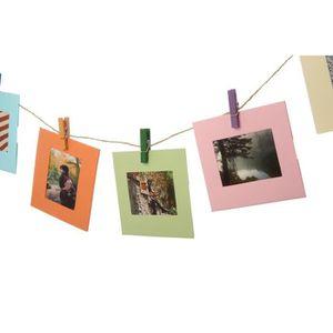 ALBUM - ALBUM PHOTO POLAROID PL2X3FRSQ Cadres photo carré - Papier pho