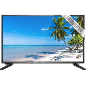 Téléviseur LED OCEANIC TV LED HD Smart TV 61cm (24'') Wi-Fi Netfl