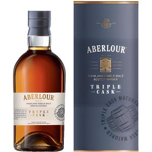 WHISKY BOURBON SCOTCH Aberlour Triple Cask - Highland Single Malt Scotch