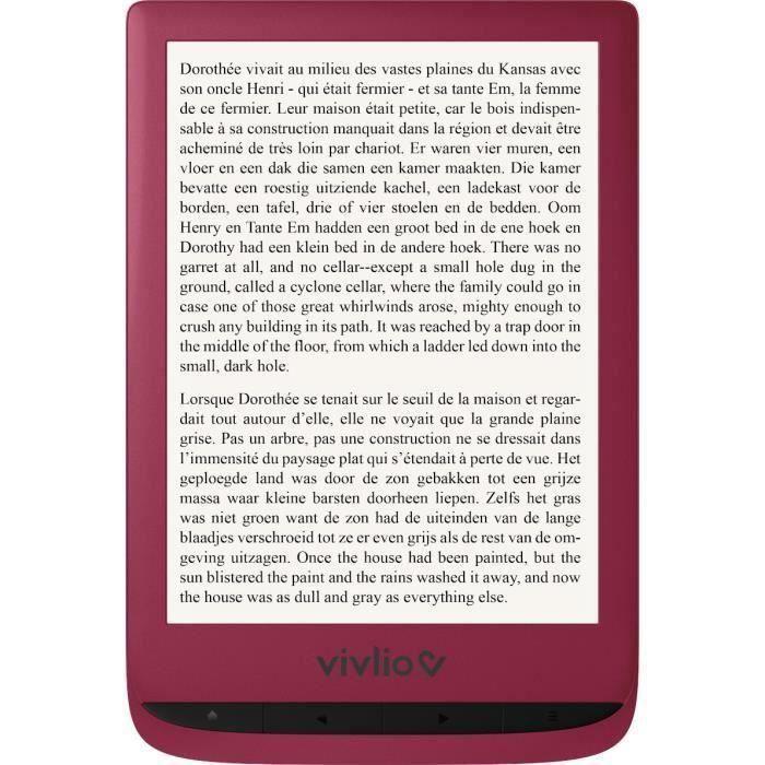 EBOOK - LISEUSE Liseuse numérique Touch Lux 4 Vivlio + smart cover