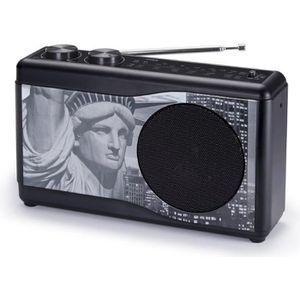 RADIO CD CASSETTE BIGBEN TR23BLACK Radio portable - Tuner analogique