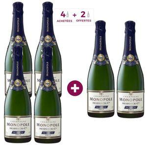 CHAMPAGNE 4+2 Champagne Heidsieck Monopole 1er Cru Brut