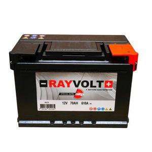 BATTERIE VÉHICULE Batterie auto RAYVOLT RV3 70AH 610A