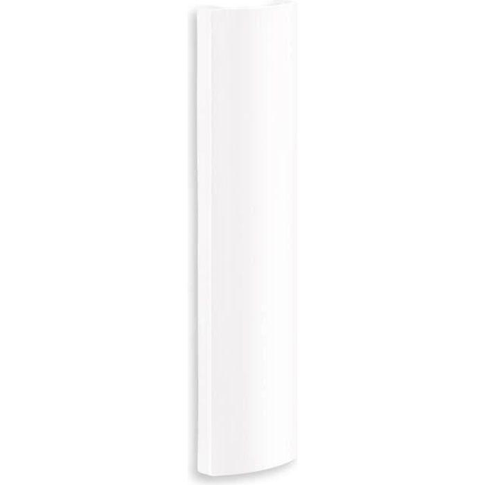 Meliconi Cache Cables Mural Abs L 9 X P 2 7 X H 35 Cm Blanc Fixation Support Tv Avis Et Prix Pas Cher Cdiscount