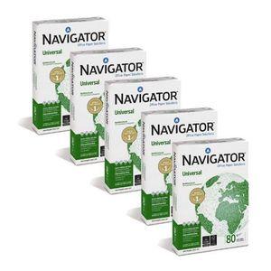 PAPIER IMPRIMANTE Pack de 5 ramettes Navigator A4 80g