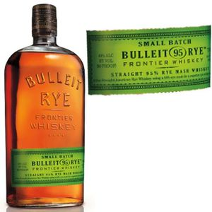 WHISKY BOURBON SCOTCH Bulleit rye bourbon  45 ° 70cl