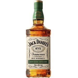 WHISKY BOURBON SCOTCH Jack Daniel's - Rye - Tennessee - Whiskey - 45% -