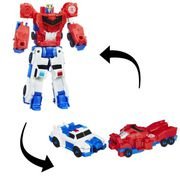FIGURINE - PERSONNAGE TRANSFORMERS Crash Combiners Optimus Prime & Stron