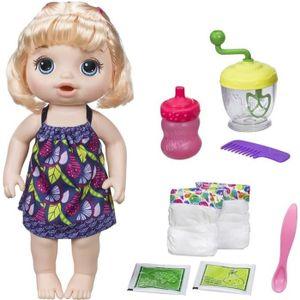 POUPÉE BABY ALIVE Hasbro - Mange à la cuillère - Poupon à