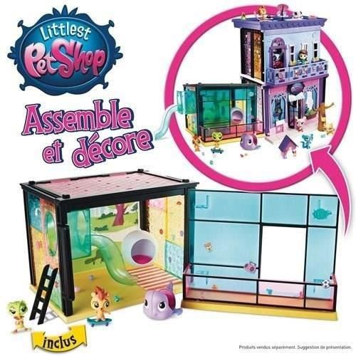 littlest petshop salle de jeu style 2 petshop achat vente univers miniature cdiscount. Black Bedroom Furniture Sets. Home Design Ideas
