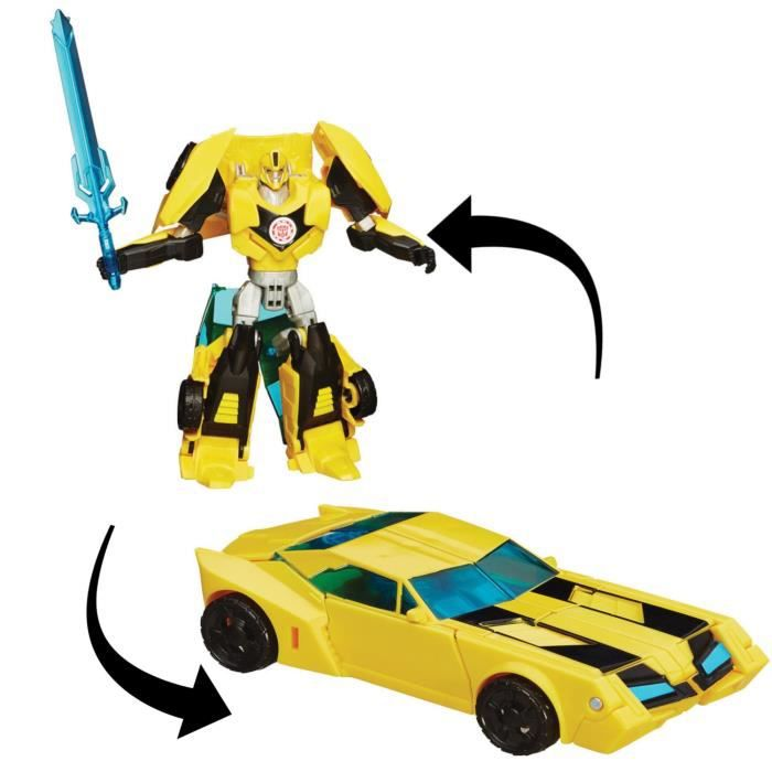 transformers robot in disguise deluxe bumblebee achat vente accessoire de figurine robot. Black Bedroom Furniture Sets. Home Design Ideas