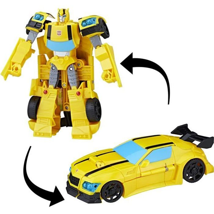 FIGURINE - PERSONNAGE TRANSFORMERS Cyberverse - Bumblebee - Robot 20cm