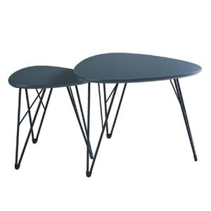 Table basse achat vente table basse pas cher cdiscount for Table basse retro pas cher