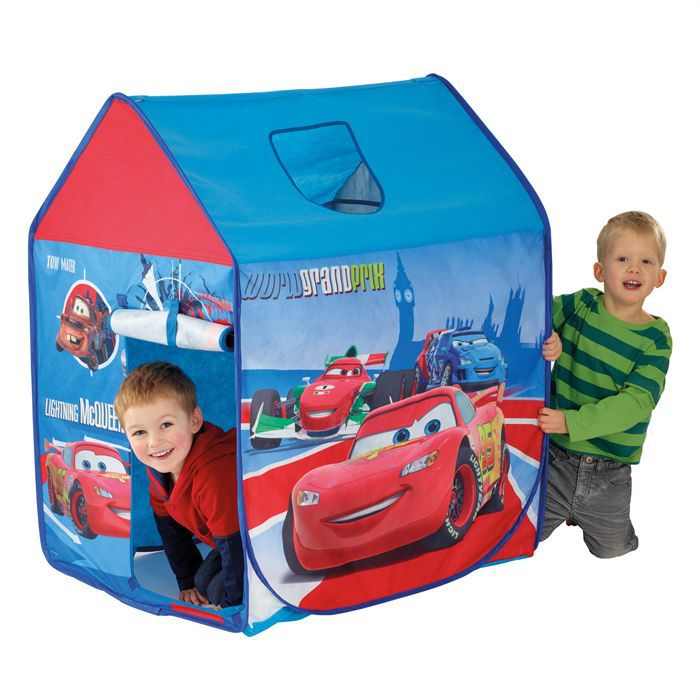 cars 2 tente enfant pop up achat vente tente tunnel d. Black Bedroom Furniture Sets. Home Design Ideas