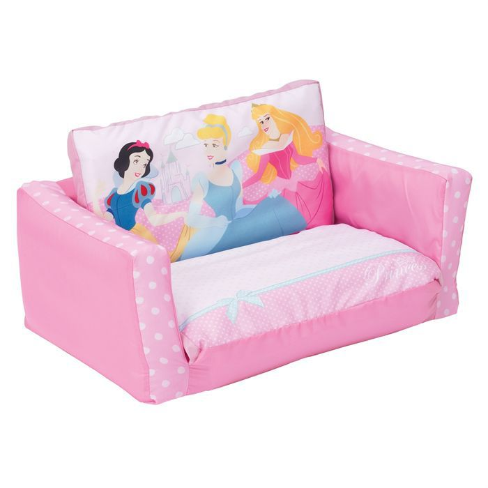 canap lit enfant disney princesses 70 x 140 cm achat. Black Bedroom Furniture Sets. Home Design Ideas