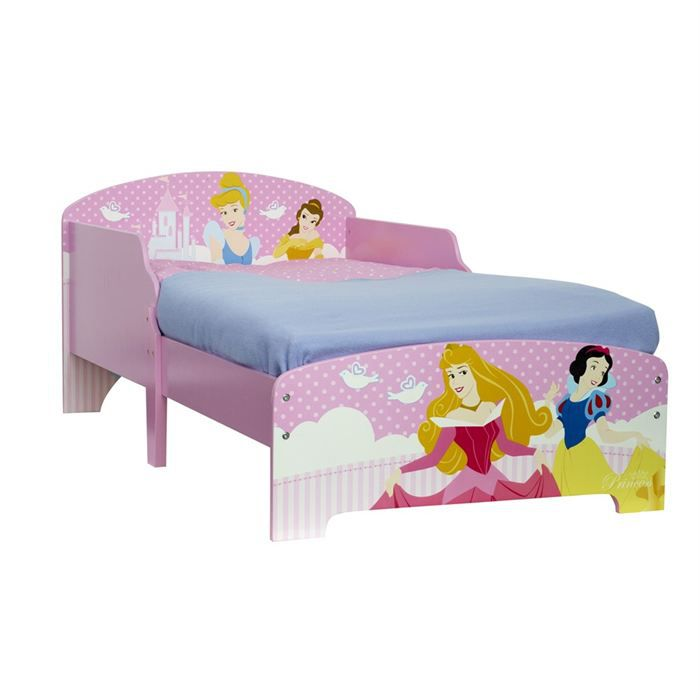 lit enfant disney princesses 70 x 140 cm achat vente. Black Bedroom Furniture Sets. Home Design Ideas