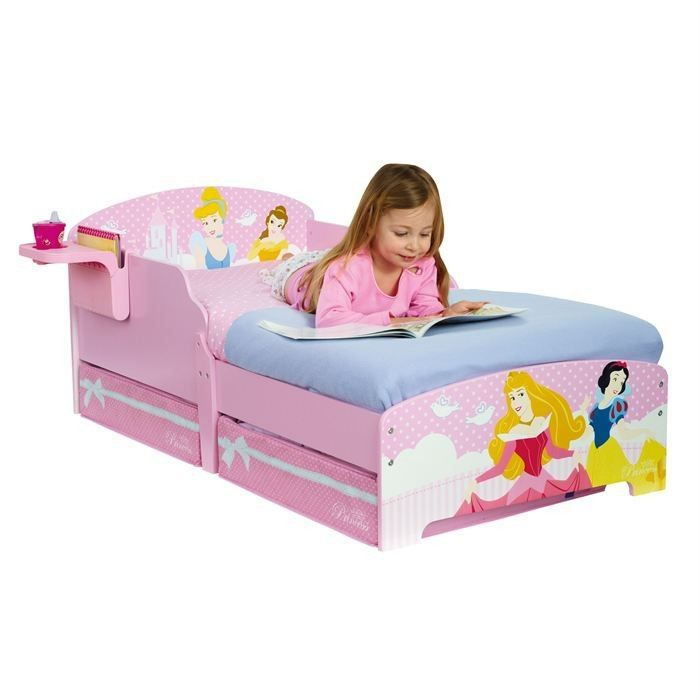 lit enfant princesse rangement 70 x 140 achat vente lit complet cdiscount. Black Bedroom Furniture Sets. Home Design Ideas