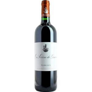 VIN ROUGE La Sirène de  Giscours 2004 Margaux - Vin rouge de