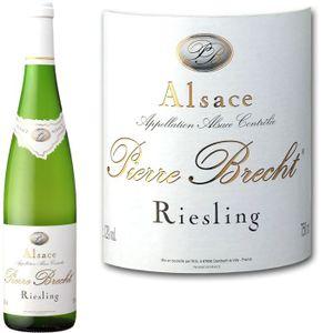 VIN BLANC Brecht Riesling Réserve Alsace 2010