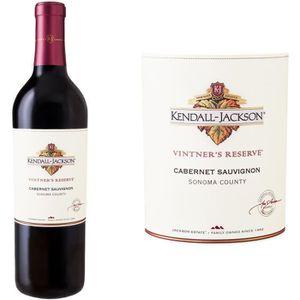 VIN ROUGE Kendall Jackson Vintner's Reserve Cabernet Sauvign