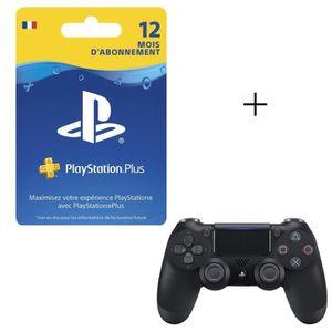 MANETTE JEUX VIDÉO Pack PlayStation :  Abonnement 12 Mois PlayStation