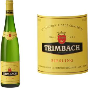 VIN BLANC Domaine de Trimbach 2014 Riesling - Vin blanc d'Al