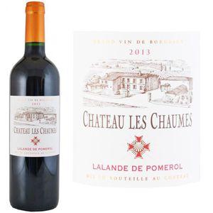VIN ROUGE Château Les Chaumes 2013 Lalande de Pomerol - Vin